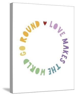 Rainbow Words - Love by Archie Stone