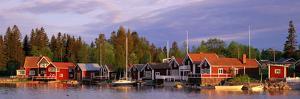 Archipelago Fishing Village on Alnoen Sweden