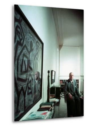 Architect Mies Van Der Rohe at Home