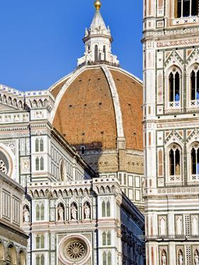 Architectural Detail of a Cathedral, Duomo Santa Maria Del Fiore, Florence, Tuscany, Italy
