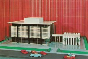 Architectural Model of Building