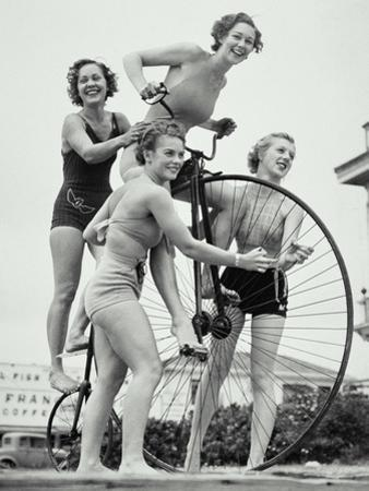 SUMMER CYCLISTS by Archive Holdings Inc.