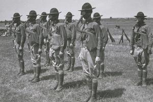 WWI TROOPS IN GEAR by Archive Holdings Inc.