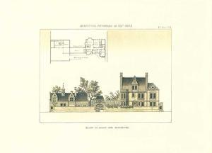 Maison et ecurie près Manchester by Archive