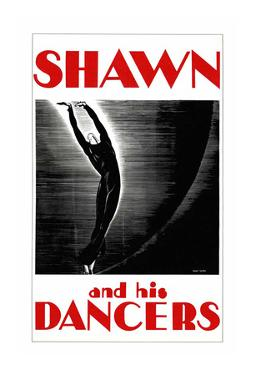 Shawn and his dancers by Archive