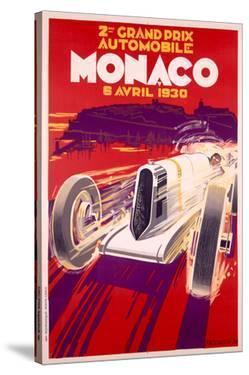 1930 Monaco Grand Prix by Archivea Arts