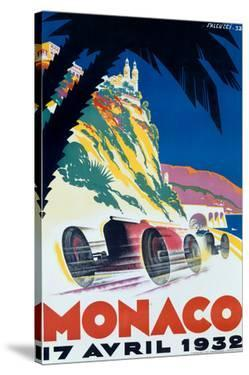 1932 Monaco F1 Grand Prix by Archivea Arts