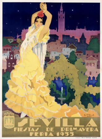 1933 Sevilla Fiesta by Archivea Arts