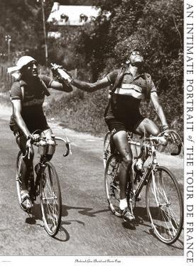 Archrivals Gino Bartali and Fausto Coppi