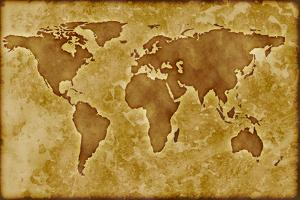 Old World Map by Arcoss