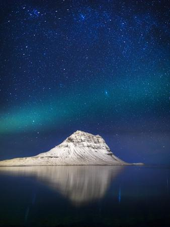 Aurora Borealis or Northern Lights in Iceland