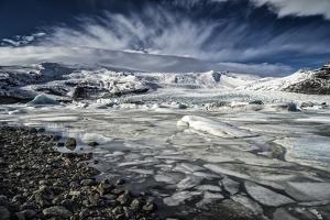 Fjallsarlon Glacial Lagoon, Iceland by Arctic-Images