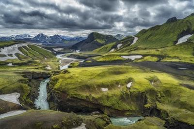 The Emstrua River, Thorsmork, Iceland by Arctic-Images