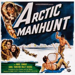 Arctic Manhunt, Bottom Left: Mikel Conrad, Carol Thurston, 1949