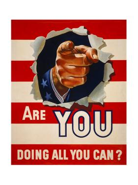 Are You Doing All You Can?