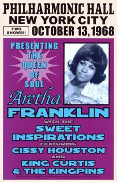 Aretha Franklin, NYC, 1968