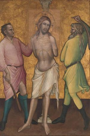 The Flagellation, c.1395-1400 by Aretino Luca Spinello or Spinelli