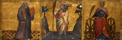 St. Benedict, St. Christopher and St. Catherine, C.1400