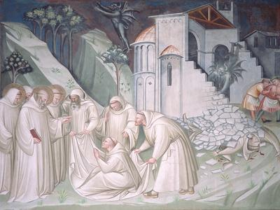 The Foundation of Montecassino and the Miracle of Raising of the Monk, Sagrestia