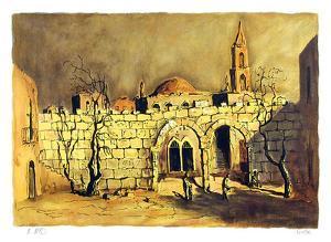 Untitled - Walled Village by Ari Arad