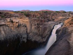 Augrabies Falls Cascading Through Gorge, Augrabies Falls National Park, South Africa by Ariadne Van Zandbergen