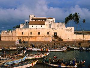 Castle of St. George, Old Gold and Slave Trading Centre, Elmina, Ghana by Ariadne Van Zandbergen