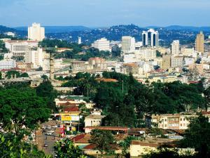Modern Cityscape, Kampala, Kampala, Uganda by Ariadne Van Zandbergen
