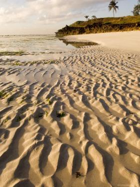 Rippled Sand at Coco Beach, Dar Es Salaam, Tanzania by Ariadne Van Zandbergen