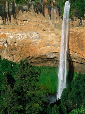Sipi Falls on Slopes of Mount Elgon, Mt. Elgon National Park, Uganda by Ariadne Van Zandbergen
