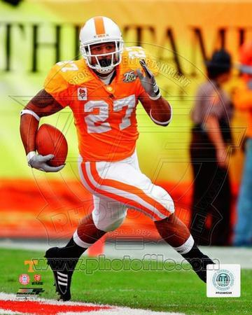 Arian Foster Univeristy of Tennessee Volunteers 2008 Action