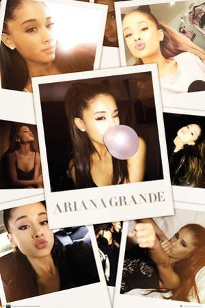 Ariana Grande- Selfies Collage
