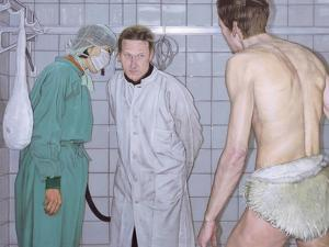 Der Besuch, 2001 by Aris Kalaizis