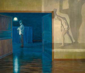 Der doppelte Mann, 2007 by Aris Kalaizis