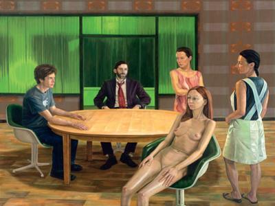 Die stunde der unnachahmlichen offenbarung, 2005 by Aris Kalaizis