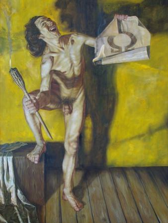 Diogenes, 1995 by Aris Kalaizis