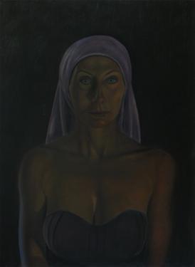 Portrait of the actress Andrea Sawatzki, 2011 by Aris Kalaizis