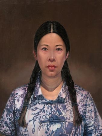 The Chinese Girl, 2016 by Aris Kalaizis