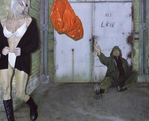 The Great Hope, 2002 by Aris Kalaizis