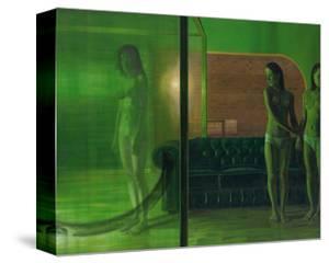 The Green Room, 2007 by Aris Kalaizis