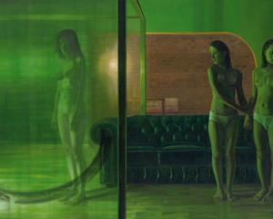 The Green Room, 2007 by Aris Kalaizis
