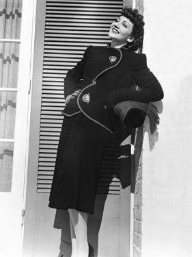 Arise, My Love, Claudette Colbert, 1940