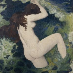 The Wave by Aristide Maillol