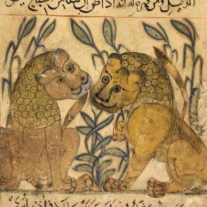 Two Lions by Aristotle ibn Bakhtishu