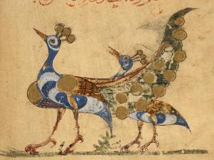 Two Peacocks by Aristotle ibn Bakhtishu