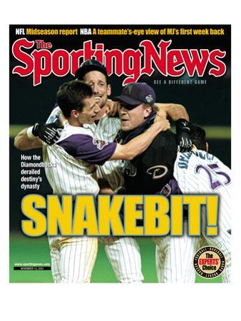 Arizona Diamondbacks - World Series Champions - November 12, 2001