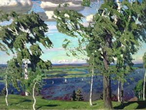 Green Sensation, 1904 by Arkadij Aleksandrovic Rylov