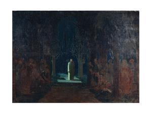 Christ at the Garden of Gethsemane by Arkhip Ivanovich Kuindzhi