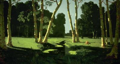 A Birch Grove, 1879