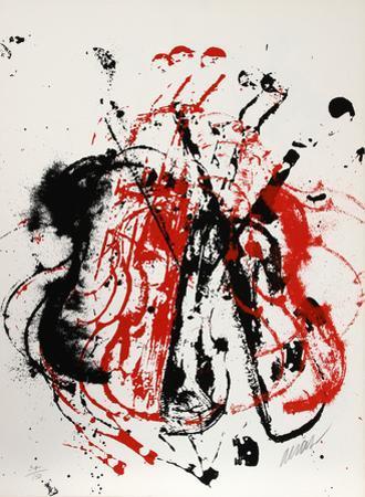 Violents Violin I by Arman