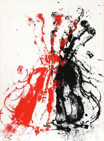 Violents Violin II by Arman